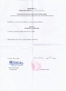2.1.2015 Zmluva o dielo Maxnetwork - dodatok